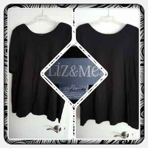 ❤ Woman's Black Top Size 3X ❤
