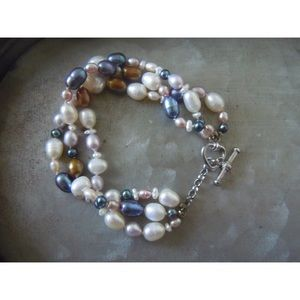 Honora Jewelry - Honora Collection Multi Strand Bracelet