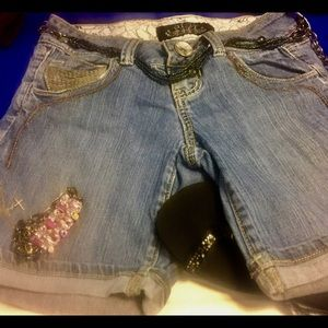 HINT Denim - 😎HINT Jean Shorts - Sz 1 GREAT 👍 Condition!💙💙