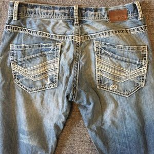 BKE Extremely distressed men's Jeans