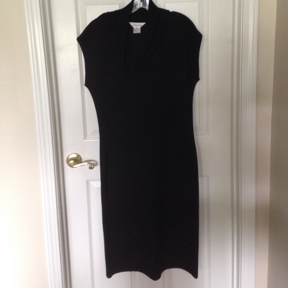 Misook Dresses Exclusively Misook Cowl Neck Dress Med Poshmark
