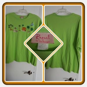 Tops - ❤ NWOT Woman's Green Tunic Size 3X ❤