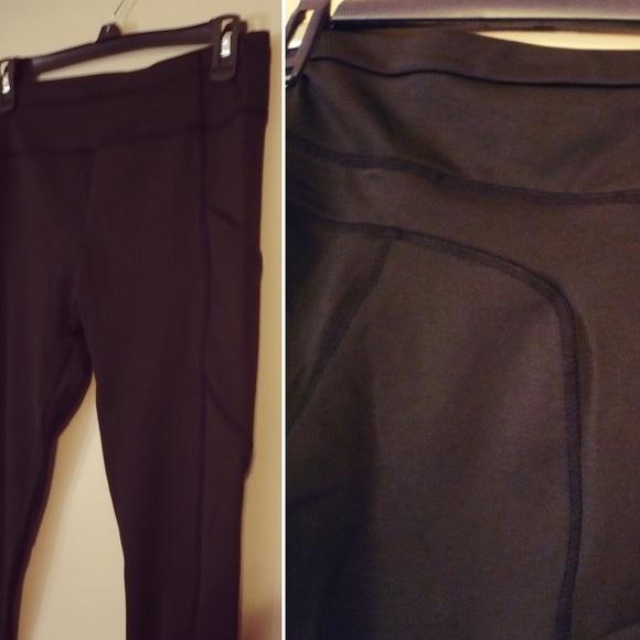 Black Yoga Pants Pockets