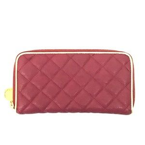 Urban Expressions Handbags - Urban Expressions Quilted Vegan Leather Zip Wallet