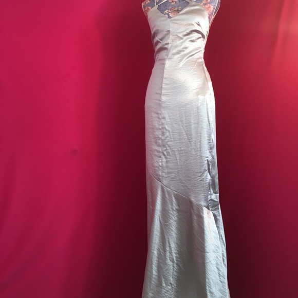 H&M Dresses | Silver Ball Gown | Poshmark