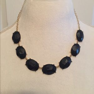 Jewelry - Black Jewel Statement Necklace