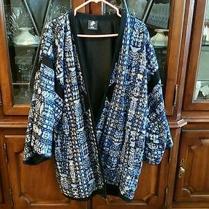 Handwoven cotton coat