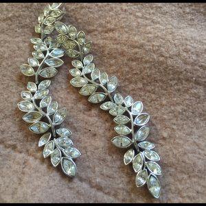 KJL Kenneth Jay Lane dangling crystal earrings