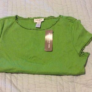 Jones ny green tshirt