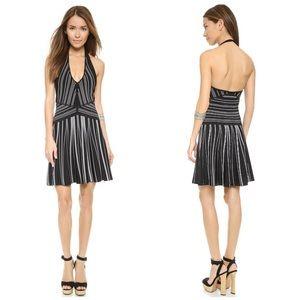 Diane von Furstenberg Dresses & Skirts - Diane von Furstenberg B&W Adalyn Halter Dress