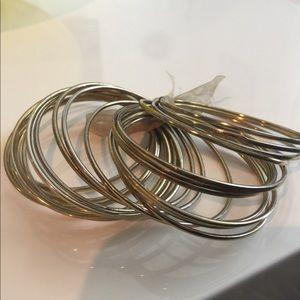 Jewelry - 24-Piece Gold Bangle Set