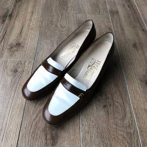"""Salvatore Ferragamo Shoes - Salvatore ferraegamo 2"""" heels leather"""