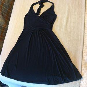 Boden Knit Halter Dress