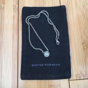 David Yurman Jewelry - David Yurman - Blue Topaz Cookie Necklace
