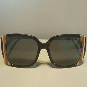 Ferragamo Accessories - Salvatore Ferragamo square face large sunglasses