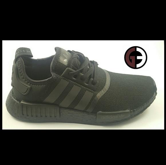 Black Nwt Adidas Nmd R1 Triple EH29DeWIYb