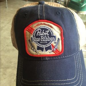 Original Retro Brand Other - Retro Brand Distressed Pabst Blue Ribbon Hat