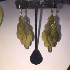 Jewelry - Antique Gold Chandelier Earrings