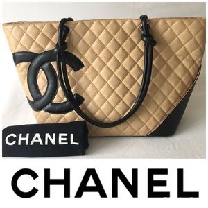 CHANEL Handbags - Chanel Cambon Large Leather Tote
