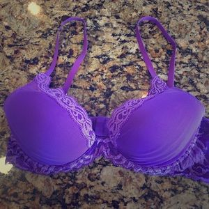 Natori Other - Nordstrom Natori Lace Purple Bra 36B Like New