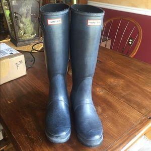 Black Hunter Rain Boots