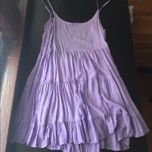 American Eagle Outfitters Dresses & Skirts - Lilac Tiered Summer Dress