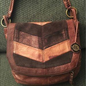 The Sak Handbags - The Sak Multi Brown Leather Hobo Handbag Purse