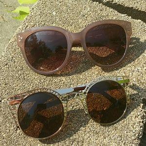 Quay Accessories - 2 sunglasses!