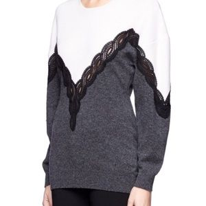 Stella McCartney Wool Lace Sweater