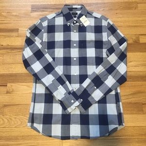 J. Crew Other - NWT Men's J.Crew Slim Fit Blue Checked Button Down