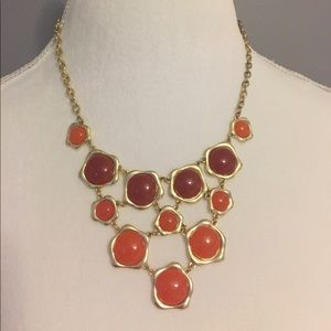 Jewelry - Orange Statement Necklace