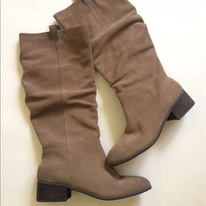 bp Shoes - 9 BP NWT Knee High BOOTS BROWN SUEDE $100 Sz 9