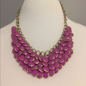 Jewelry - Magenta Statement Necklace