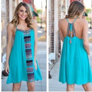 Boutique Dresses & Skirts - 🎉HP 5/15/17🎉Fun In The Sun Boho Chic Tunic Dress