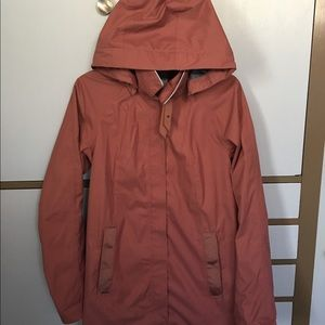 Lululemon Barkberry Rain On Jacket 8 EUC