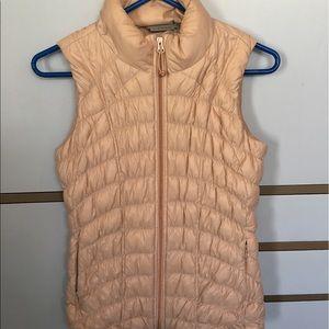 Athleta Downtime Vest Light Pink Small EUC