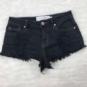 gypsy warrior Pants - Gypsy Warrior distressed shorts