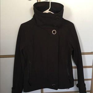 Lululemon Audrey Bomber Jacket Black 6 EUC