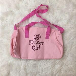 Other - Flower Girl Duffle Bag