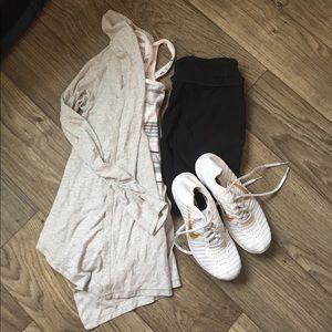 Ivivva Other - Ivivva by Lululemon girl's gray drapey cardigan