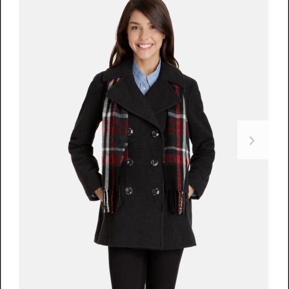 26f0d6b7e7f12 London Fog Jackets   Blazers - London Fog Quinn Double Breasted Wool Peacoat