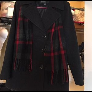 451121ce0c1fc London Fog Jackets   Coats - London Fog Quinn Double Breasted Wool Peacoat