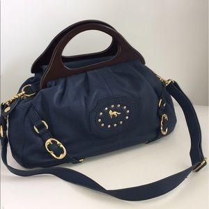 Emma Fox Handbags - Emma Fox Navy Blue Leather purse Beautiful! 🦊