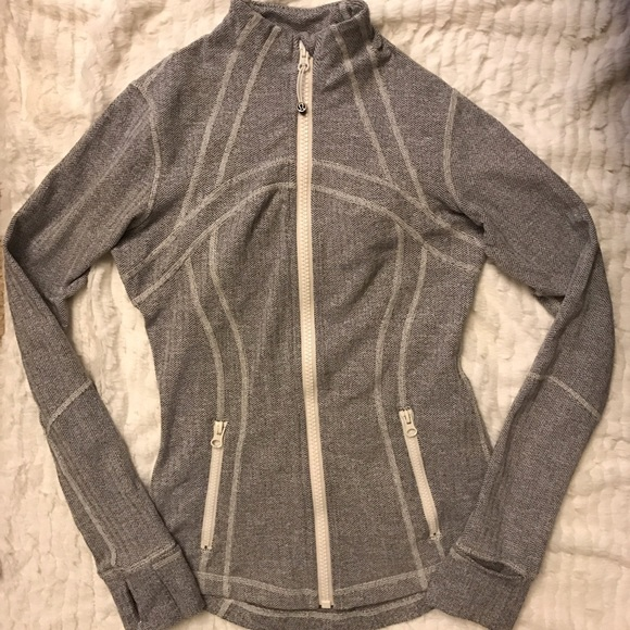 68d8de66a Lululemon Ghost Herringbone Define Jacket