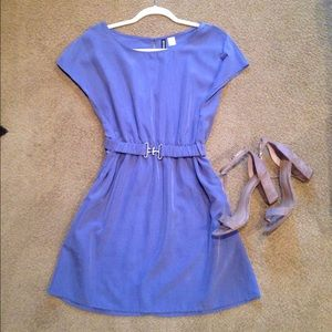 H & M Periwinkle dress never worn!