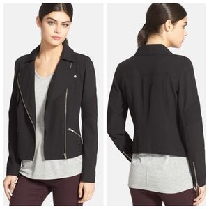 Trouve Jackets & Blazers - Trouvé Asymmetrical Zip Moto Jacket