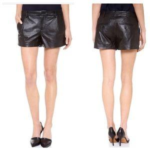 Vince Pants - Vince Leather Shorts