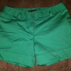 Pants - Emerald Green Shorts