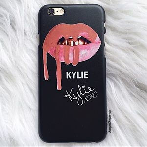 B-Long Boutique Accessories - ❤️SALE❤️ Black pink Kylie iPhone 6/6s • 7 case
