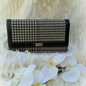 Ralph Lauren Handbags - RALPH LAUREN Houndstooth Wallet